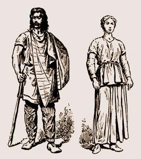 Histoire de la mode: modestie des vêtements des Gaulois