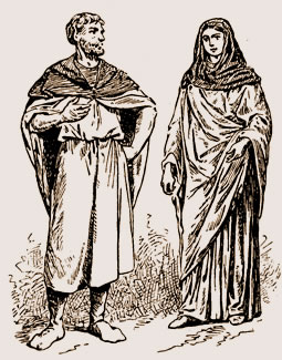 Modestie des vêtements des Gallo-Romains