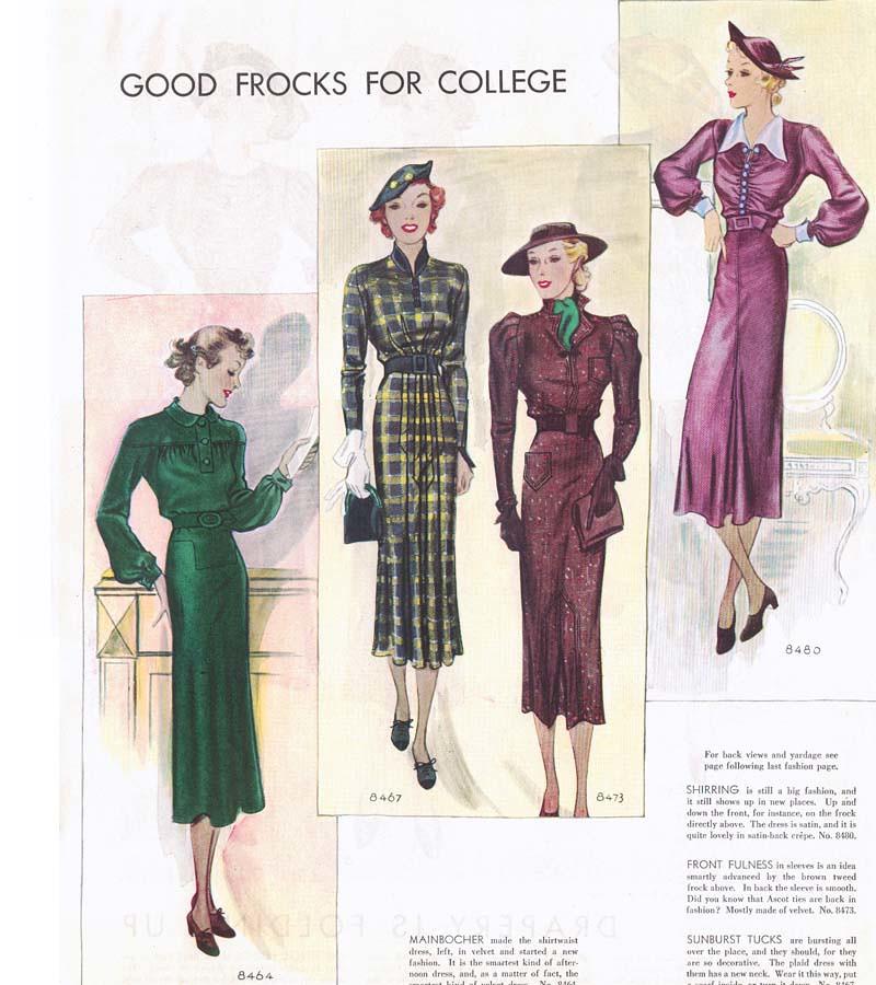Histoire de la mode: les années Trente, un faux retour en arrière