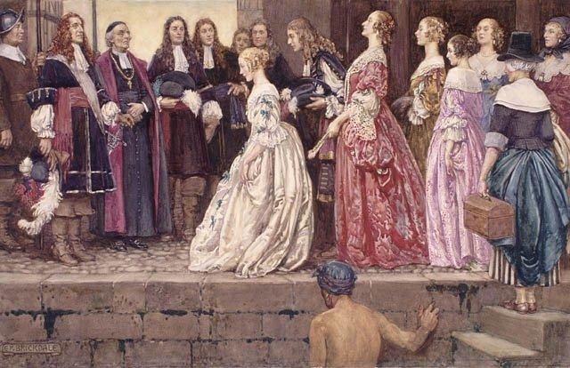 Histoire de la mode: modestie au XVII ième siècle