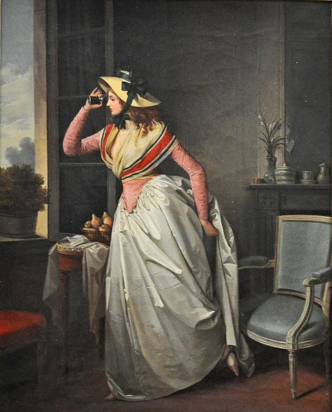 Robe longue au XVIII ième siècle