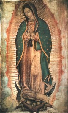 ND de Guadalupe, La Vierge toute pure