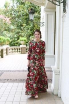 Jolie robe à fleurs chez Dainty Jewells