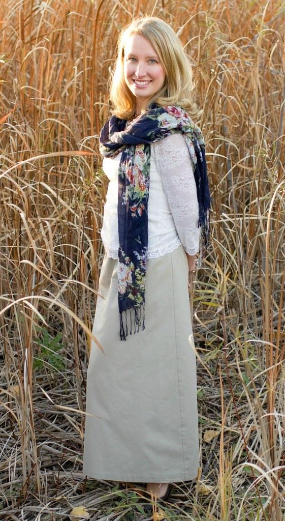 La jupe longue, où comment retrouver sa féminité