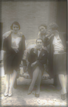 Femmes dans les années 20: la décence a disparu