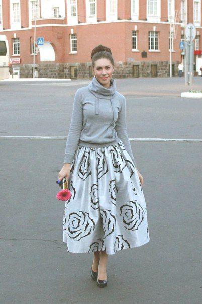 Jolie jupe ample