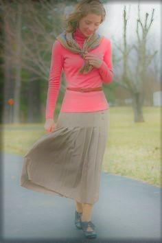 Jolie jupe plissée